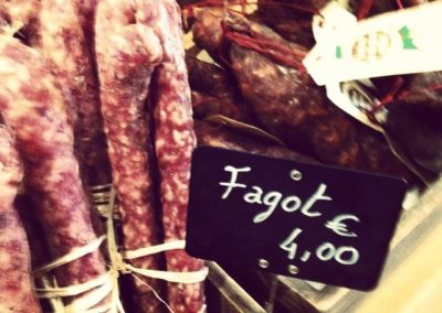 I couldn't help but giggle when shopping for sausages…!